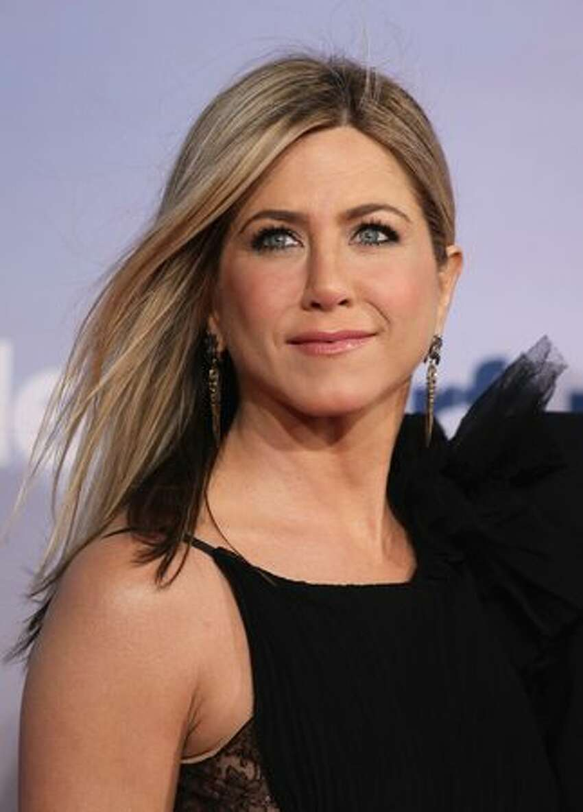 Actress Jennifer Aniston attends the 'Just Go With It' Germany remiere at CineStar in Berlin, Germany.