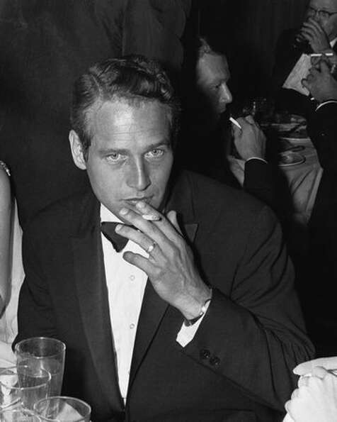 1962: Actor Paul Newman at the Oscars ceremony in Hollywood.