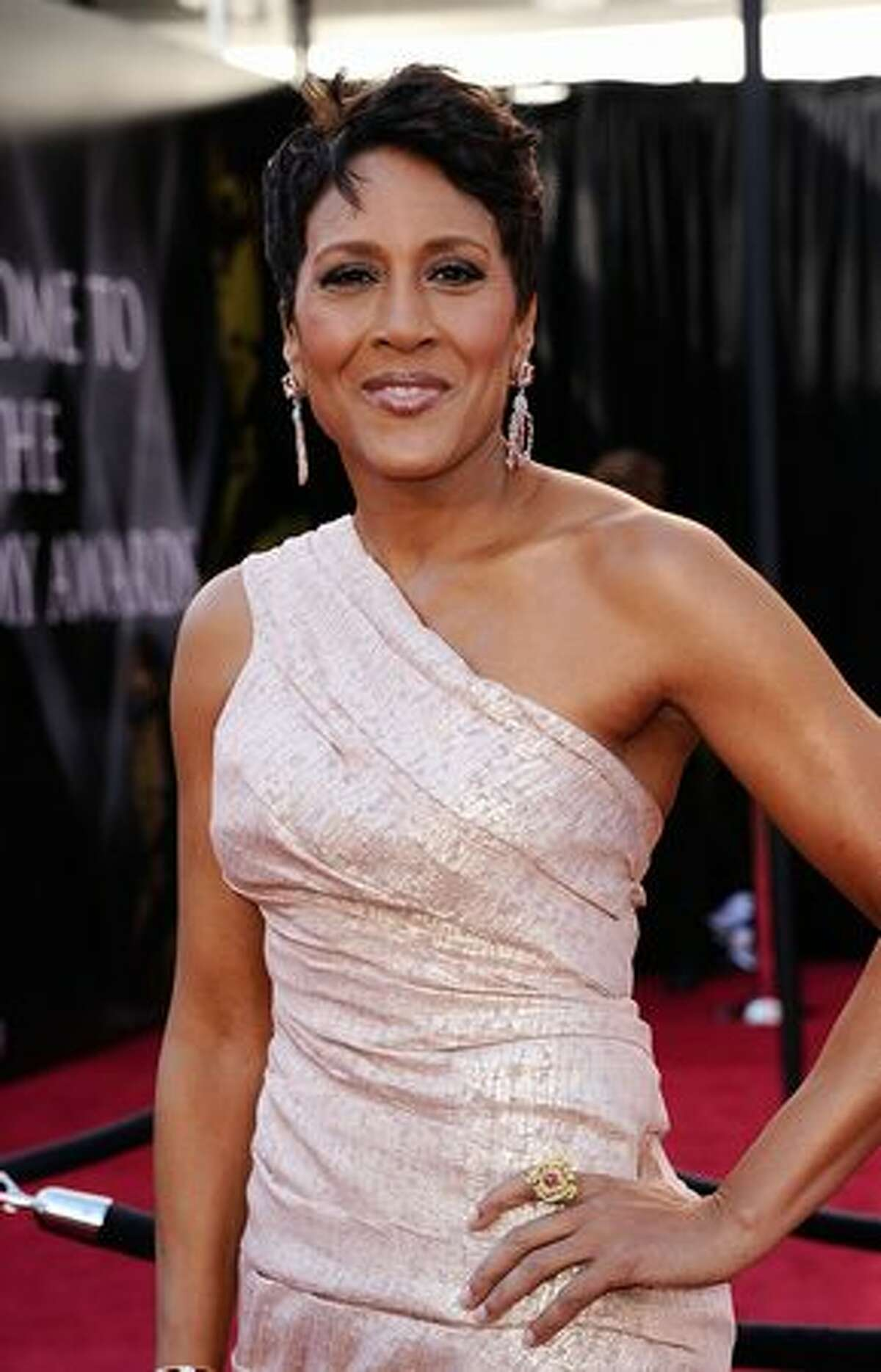 TV personality Robin Roberts arrives at the 83rd Annual Academy Awards held at the Kodak Theatre in Hollywood, California.