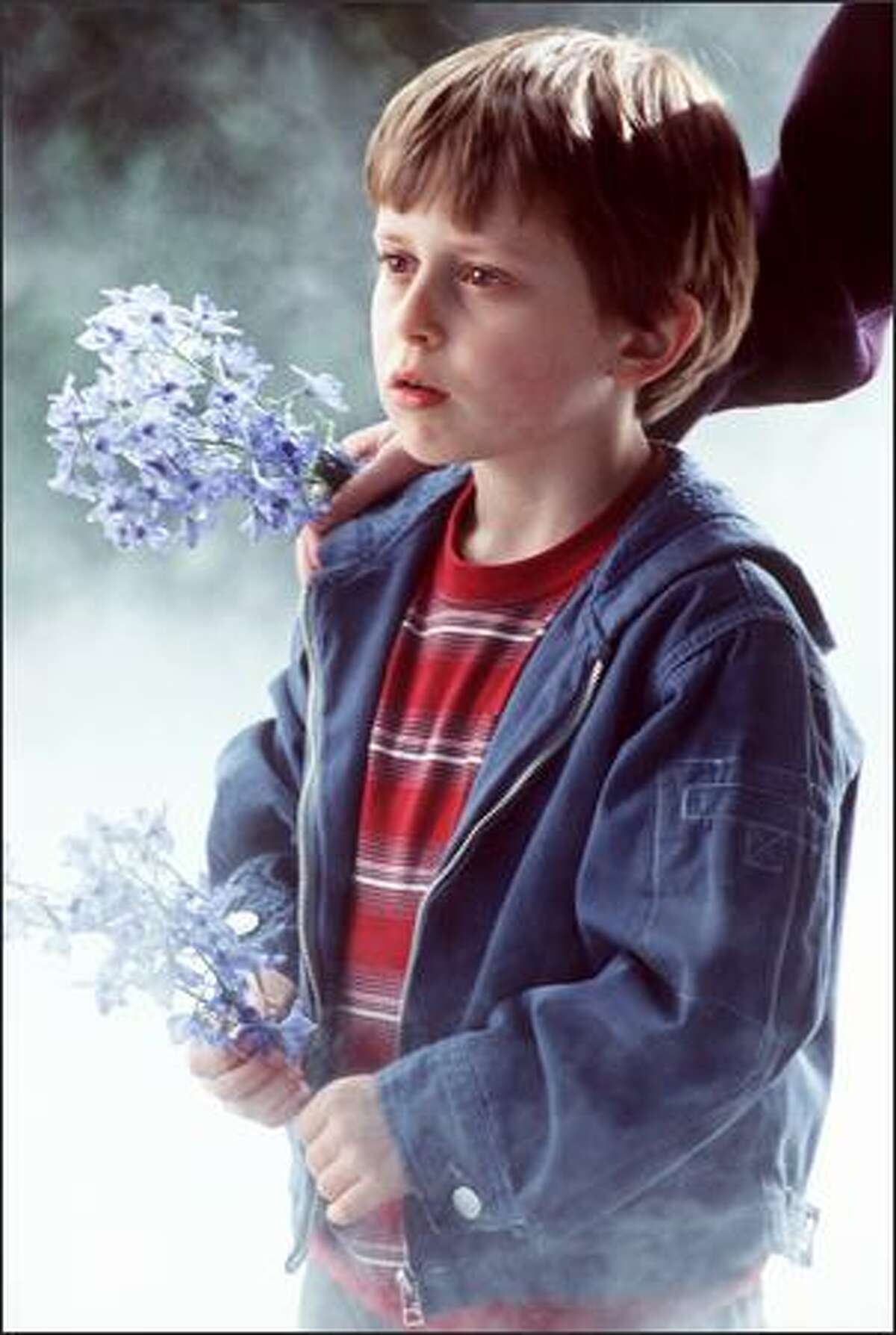 David Dorfman plays Meg's younger brother, the prodigy Charles Wallace.
