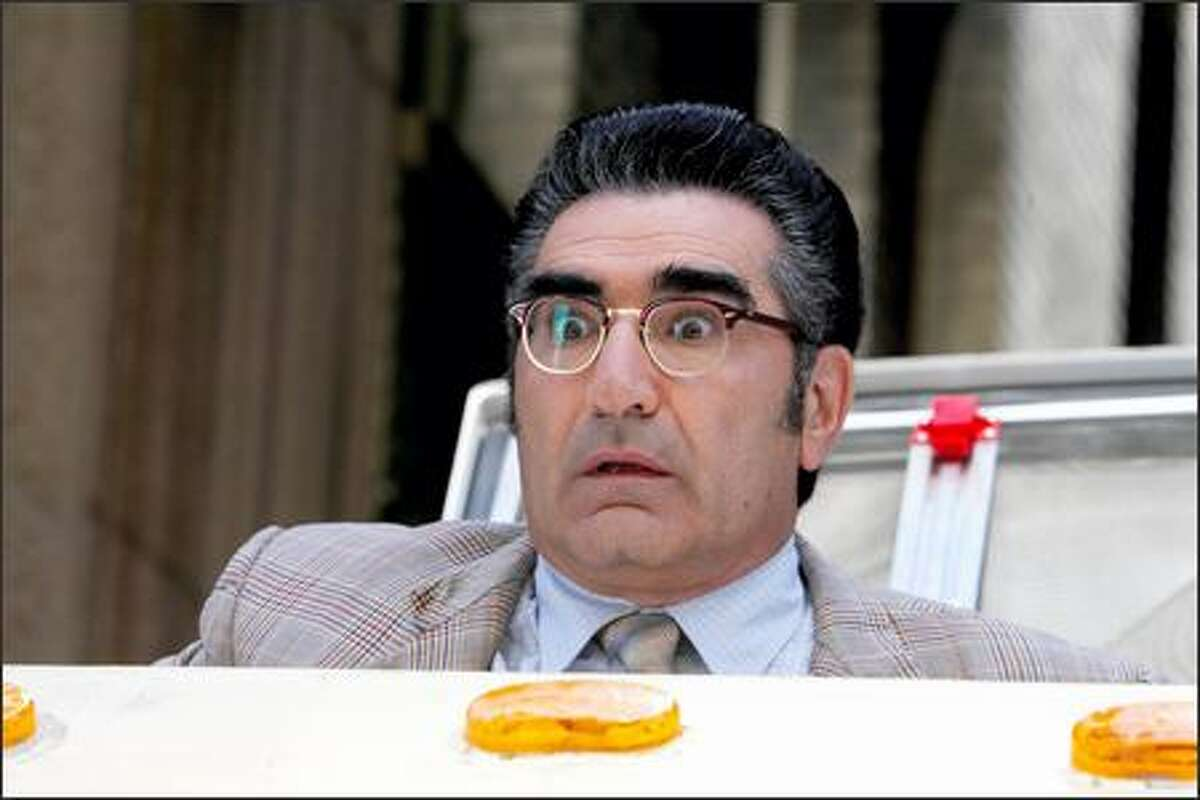 Eugene Levy has a starring role.