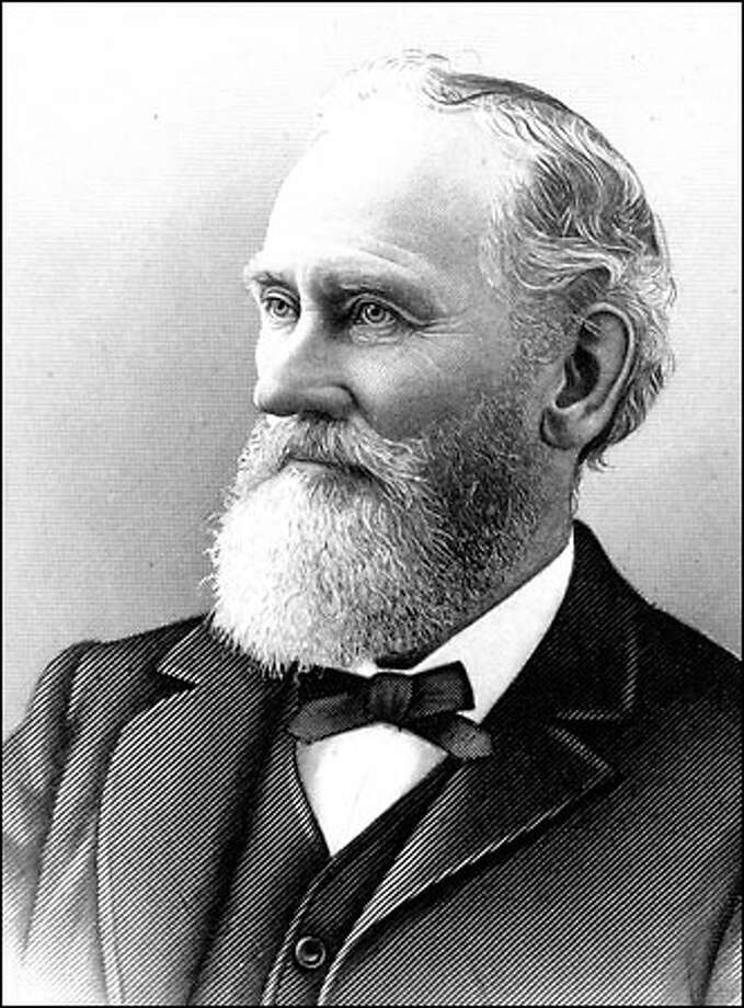 Arthur A. Denny (1822-1899 came to the Pacific Northwest not to farm or cut trees but to build a city. David was the first member of the Denny party to arrive in Seattle in September 1851. Photo: Seattle Post-Intelligencer