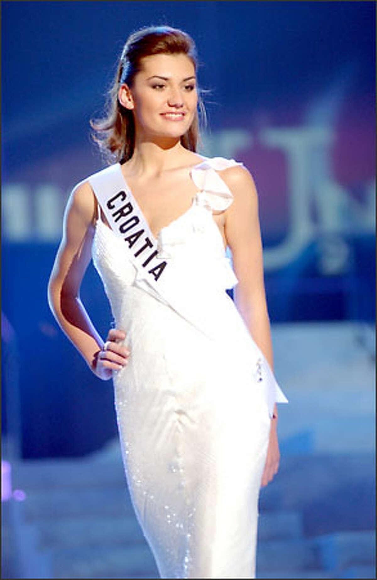 Marijana Rupcic, Miss Croatia.