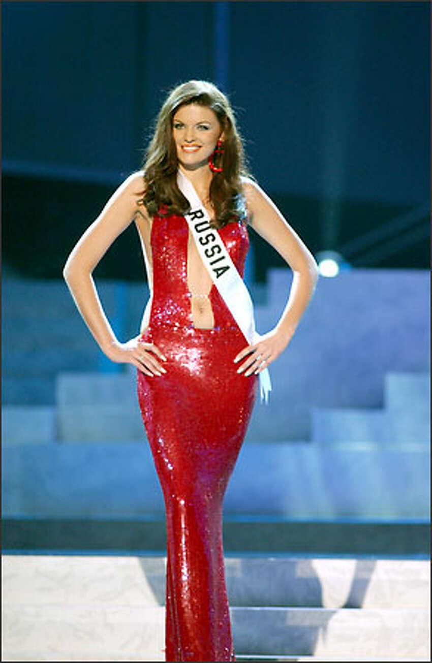 Ksenia Kustova, Miss Russia.