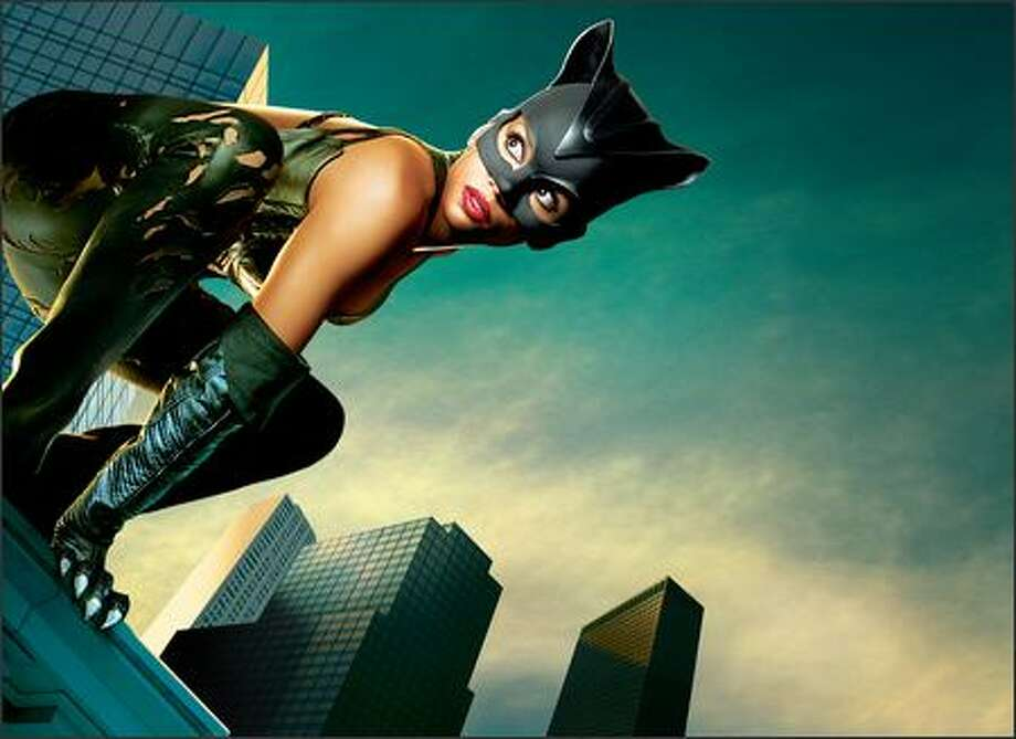 Halle Barry stars as a new Catwoman for a new century. Photo: Warner Brothers