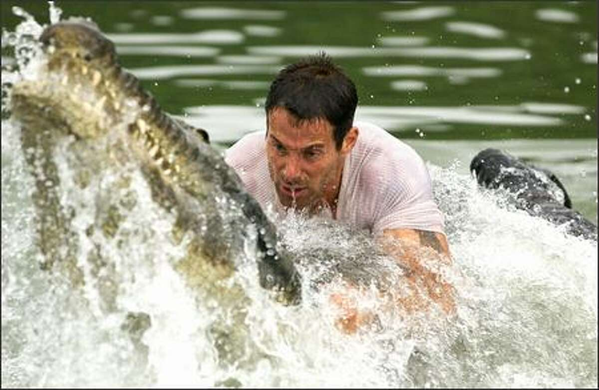 Dealing with hostile jungle fauna is more than Captain Bill Johnson (Johnny Messner) counted on when he took on this job.