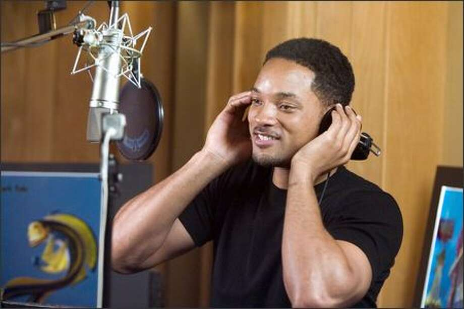 Will Smith stars as Oscar, a little fish who finds himself in hot water because of a great white lie. Photo: Dreamworks