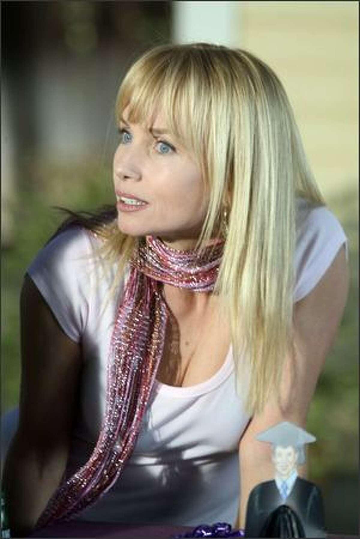 Rebecaa De Mornay plays Terri's (Hilary Duff) Aunt Nina.