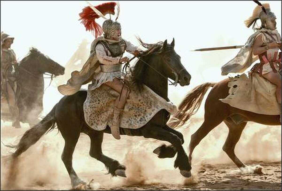 In preparation for their roles, all the actors portraying soldiers, including stars Colin Farrell, underwent extensive training in ancient battle strategies and the use of exact replicas of Macedonian and Greek weaponry.