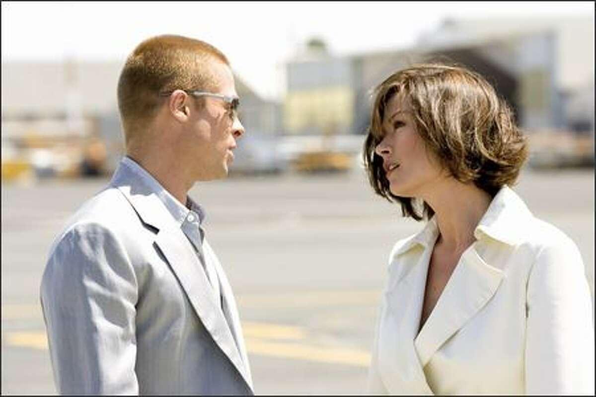 """Brad Pitt and Catherine Zeta-Jones star in """"Ocean's Twelve."""""""