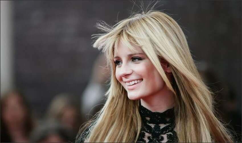 Actress, Mischa Barton arrives at the Britains Best 2008 awards at The London Studios in London, England.
