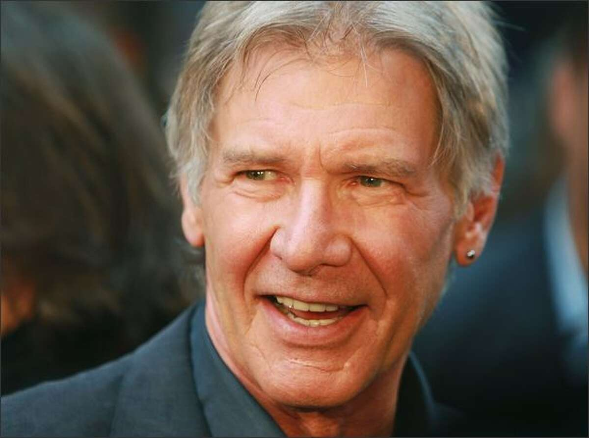 Actor Harrison Ford attends the New York premiere of