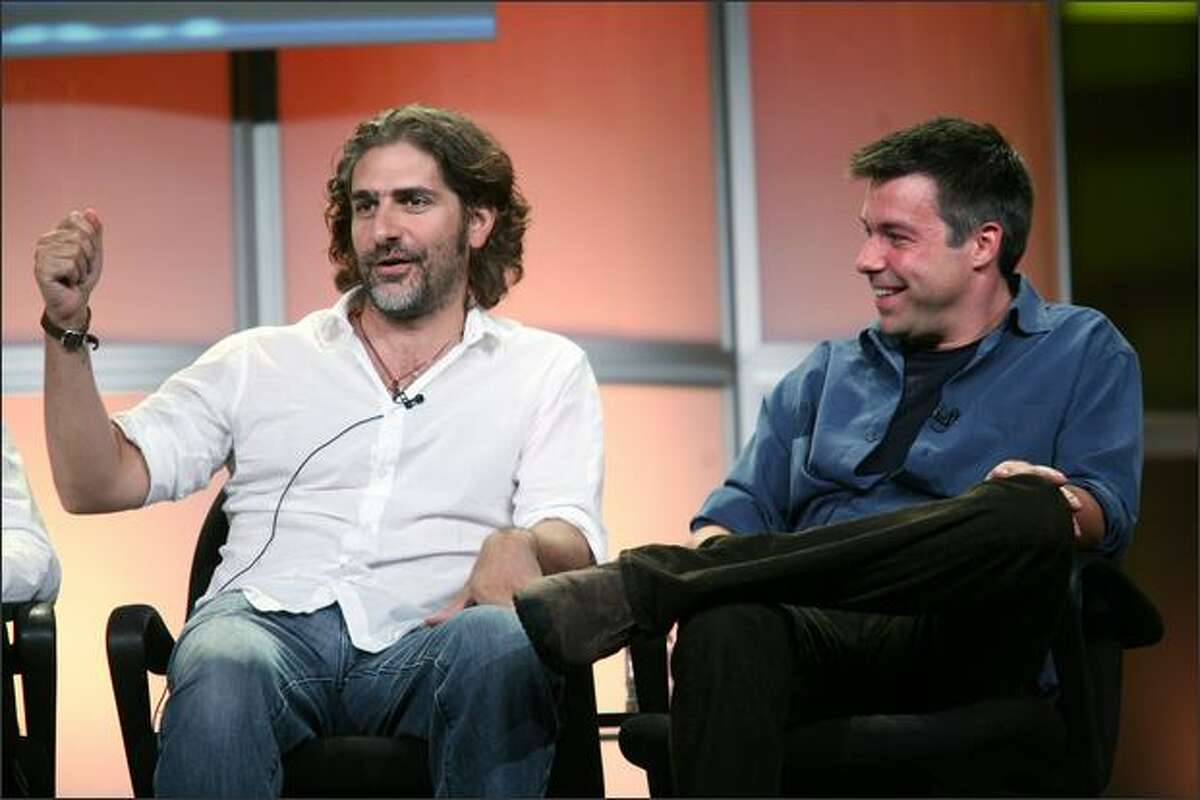 Actor Michael Imperioli and Executive Producer Andre Nemec of