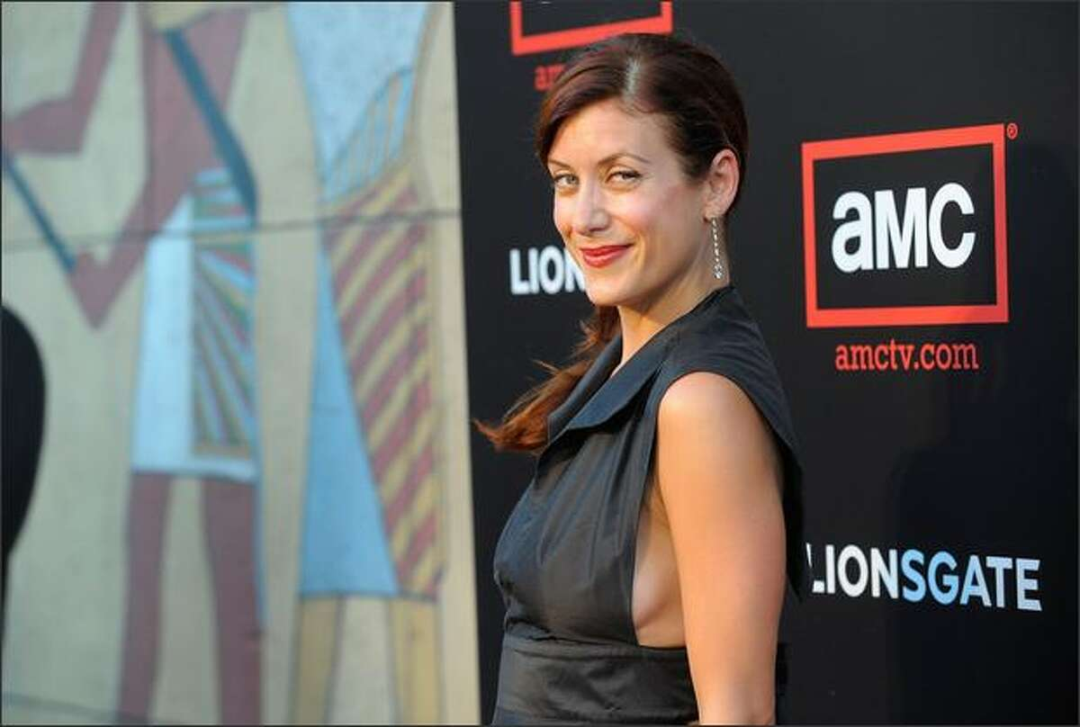 Actress Kate Walsh attends the premiere of 'Mad Men - Season 2' at the Egyptian theater on Monday in Los Angeles, Calif.