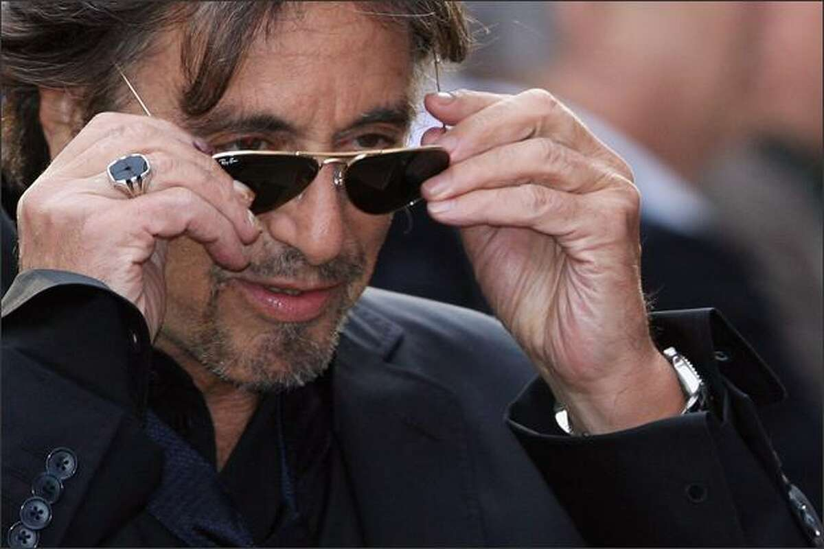 Al Pacino attends the premiere of