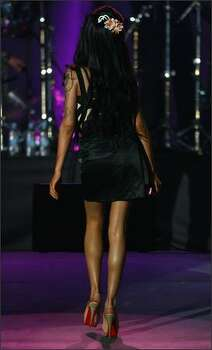 Amy Winehouse onstage. Photo: Getty Images