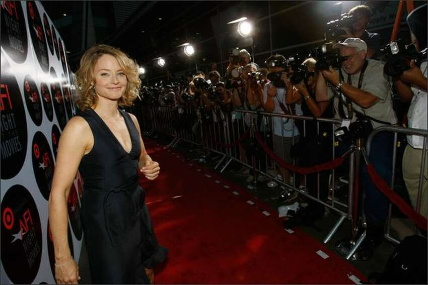 Actress Jodi Foster arrives at AFI's Night At The Movies presented by Target held at ArcLight Cinemas on Wednesday in Hollywood, Calif.