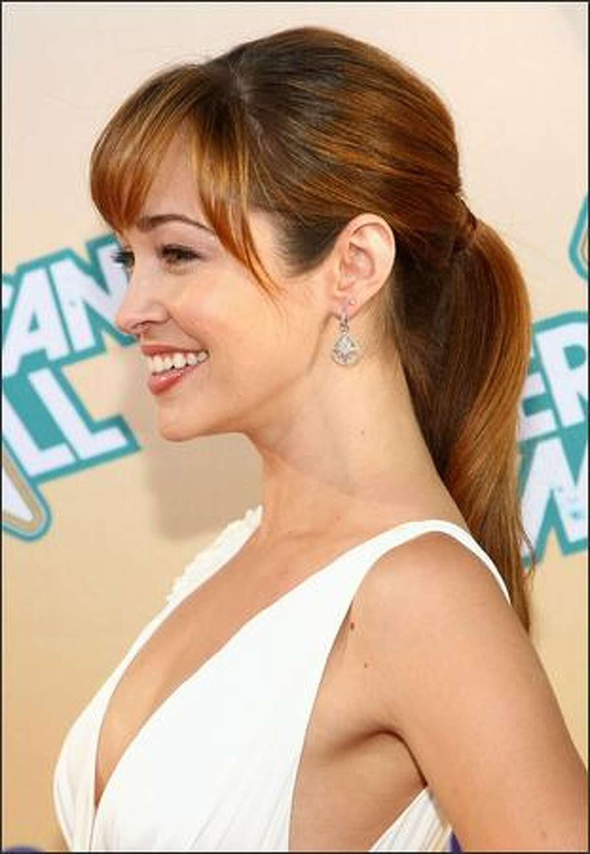 Actress Autumn Reeser arrives at the premiere of MTV's