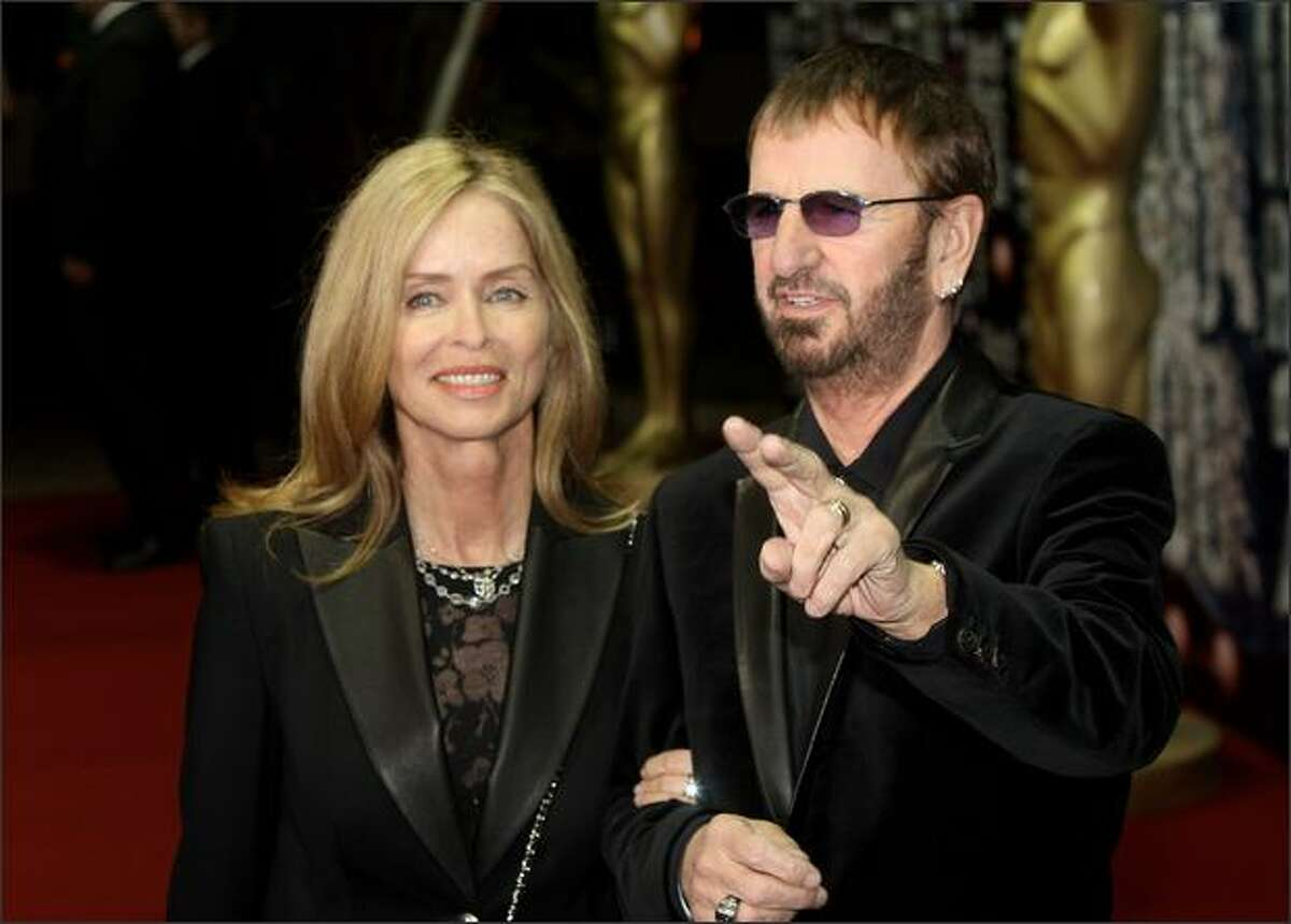Ringo Starr arrives at the World Music Awards, held at the Sporting Club on Sunday in Monte Carlo, Monaco.
