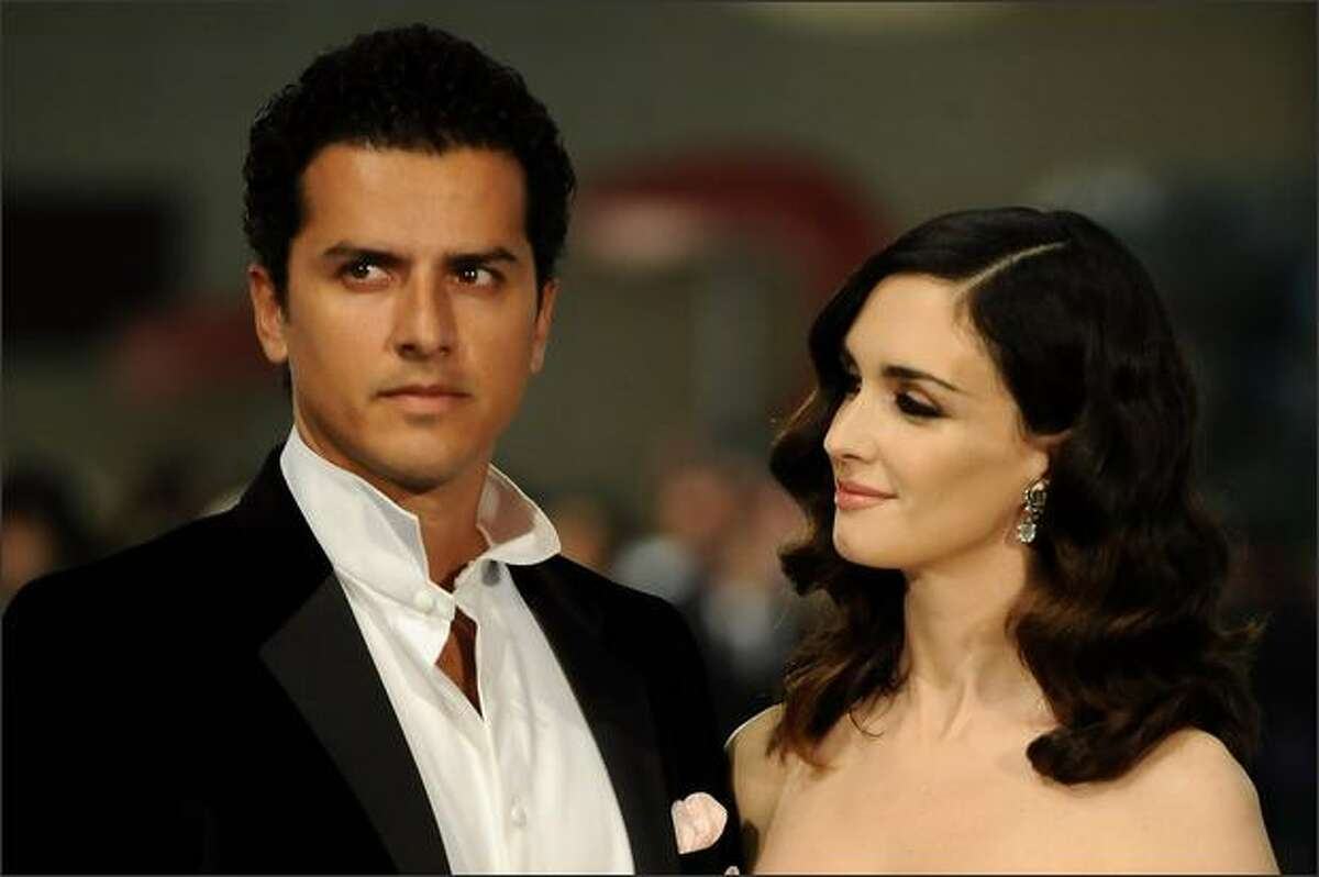 Spanish actress Paz Vega and husband Orson Salazr attend the Goya Cinema Awards 2009 ceremony on Sunday at the Palacio de Congresos in Madrid, Spain.