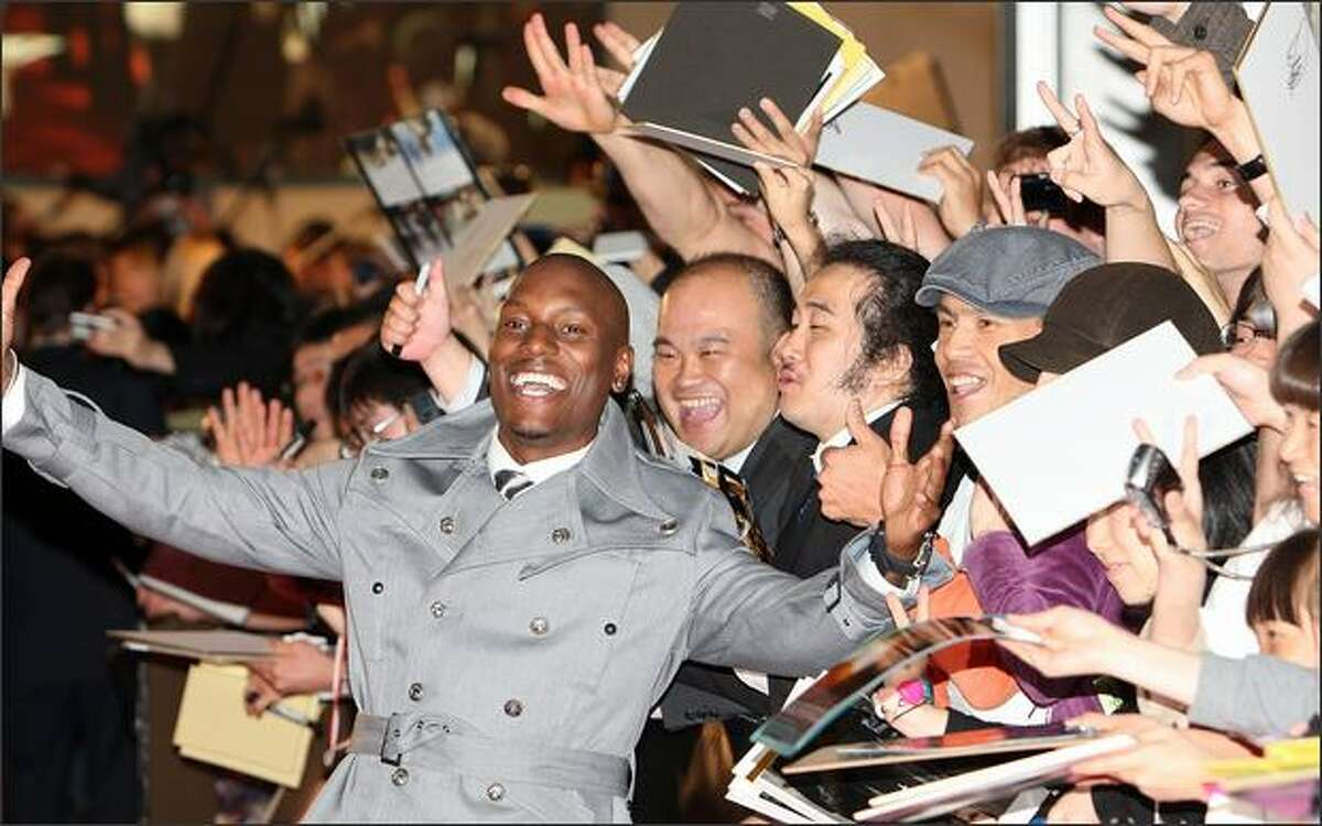 Actor Tyrese Gibson attends the