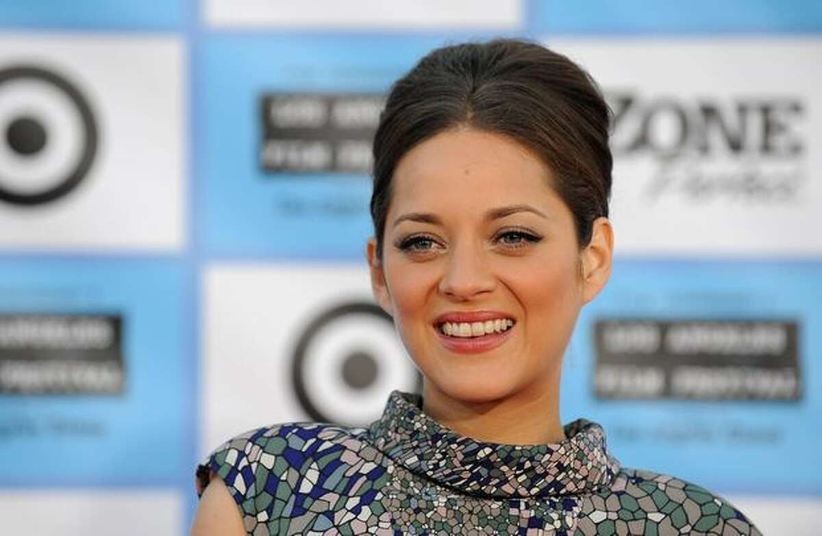 French actress Marion Cotillard arrives at the Los Angeles Film Festival for the premiere of