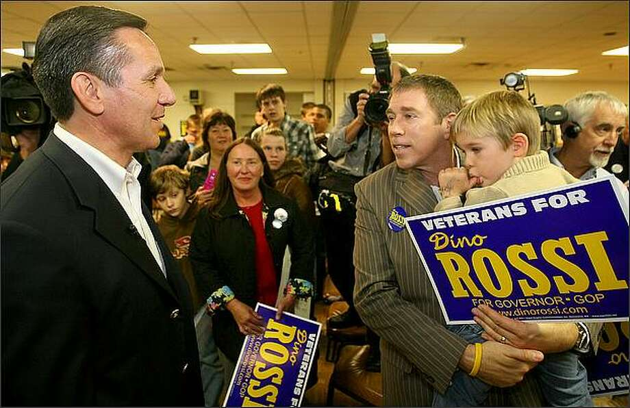 """Dino Rossi, who ran twice for governor and for the U.S. Senate, is named as one of congressional Republicans' """"young guns."""" Photo: Scott Eklund, Seattle Post-Intelligencer"""