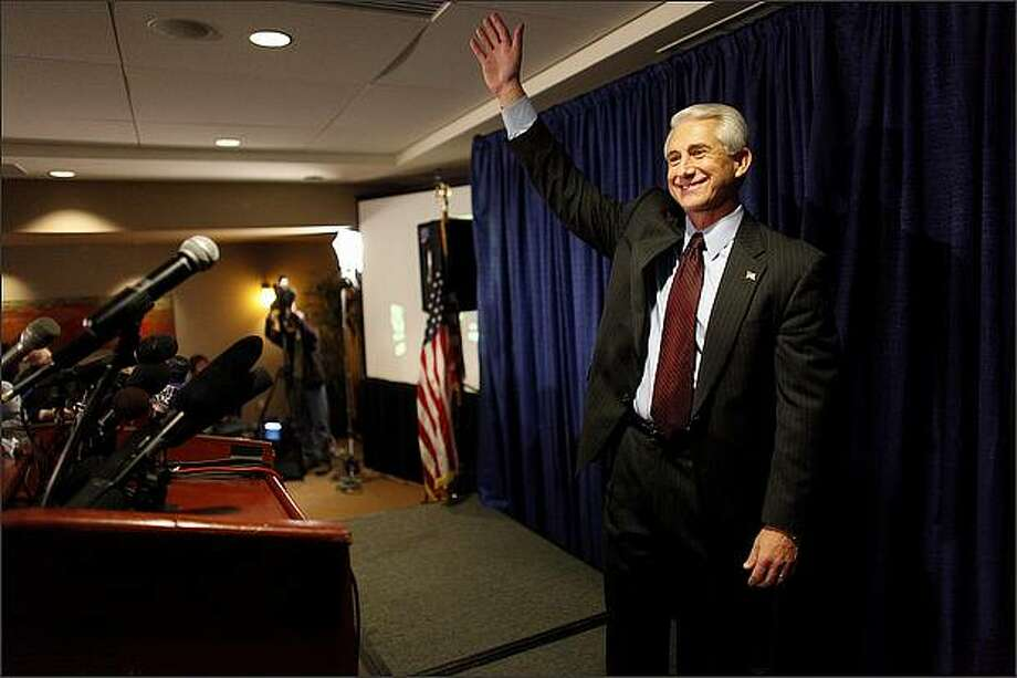 "Rep. Dave Reichert, R-Wash. – Reichert voted with his party for a budget that would delay the Affordable Care Act, a.k.a. Obamacare. Reichert, in a statement: ""I am disappointed that the Senate and the House could not come to a reasonable compromise tonight. A government shutdown is not in the best interest of the American people, whom we have promised to serve. … I will do everything within my power to find a solution to this problem, to get our government reopened so that it can fulfill its duties to the utmost benefit of this great nation."" Photo: Joshua Trujillo, Seattlepi.com"