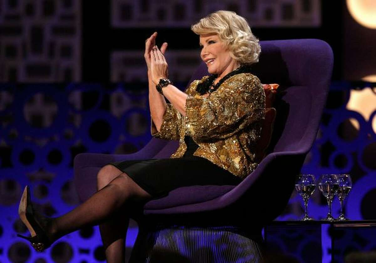 Comedian Joan Rivers onstage at the The Comedy Central Roast Of Joan Rivers held at CBS Studios in Studio City, California.