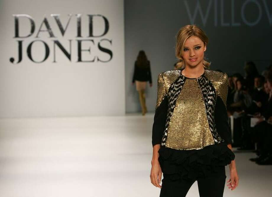 Miranda Kerr showcases designs by Willow on the catwalk at the David Jones Spring/Summer 2009 Collection Launch themed 'A Great Southern Summer 2009' at the Hordern Pavilion, Moore Park in Sydney, Australia. Photo: Getty Images