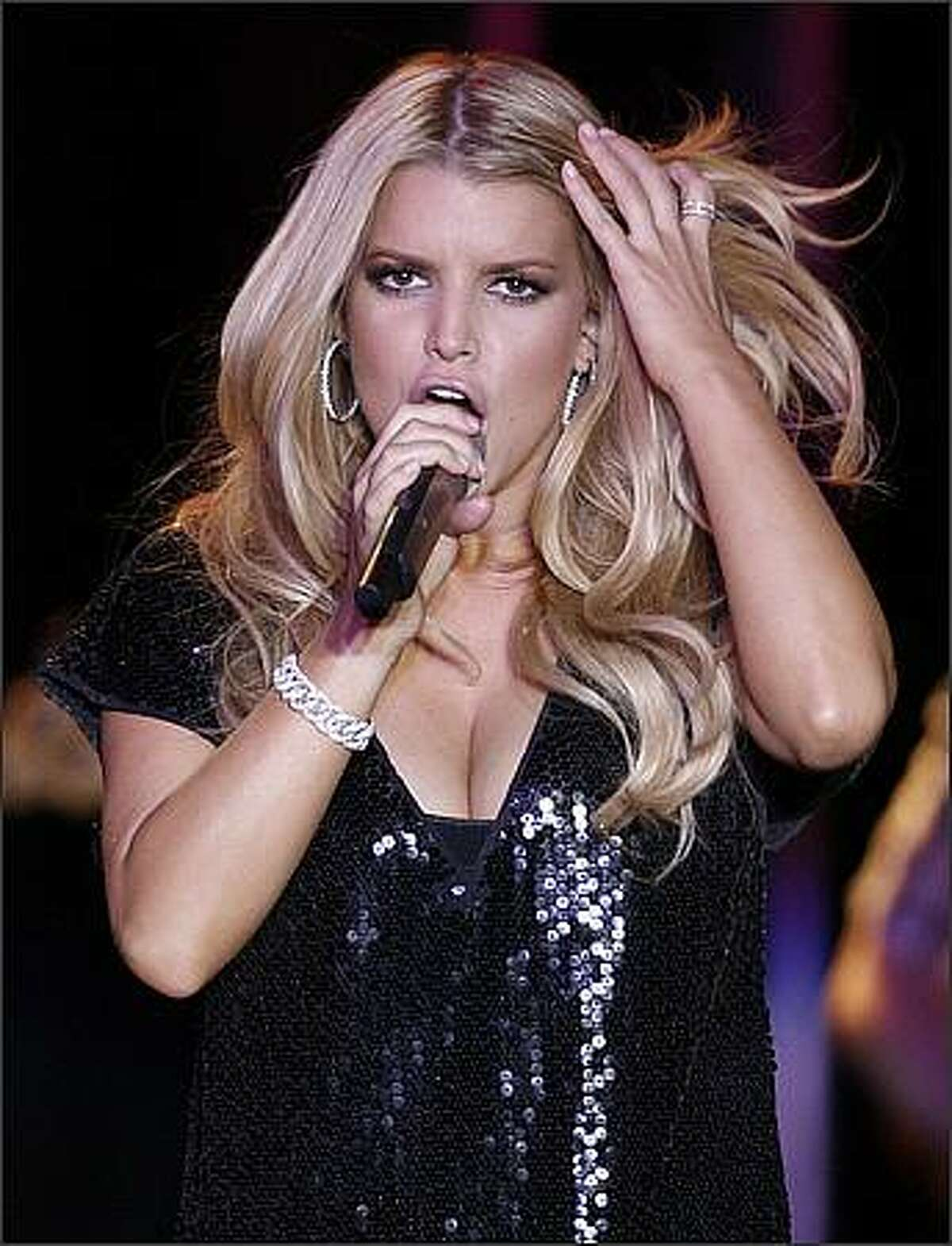 Singer, songwriter and actress Jessica Simpson plays the Snoqualmie Casino in Snoqualmie, Wash.