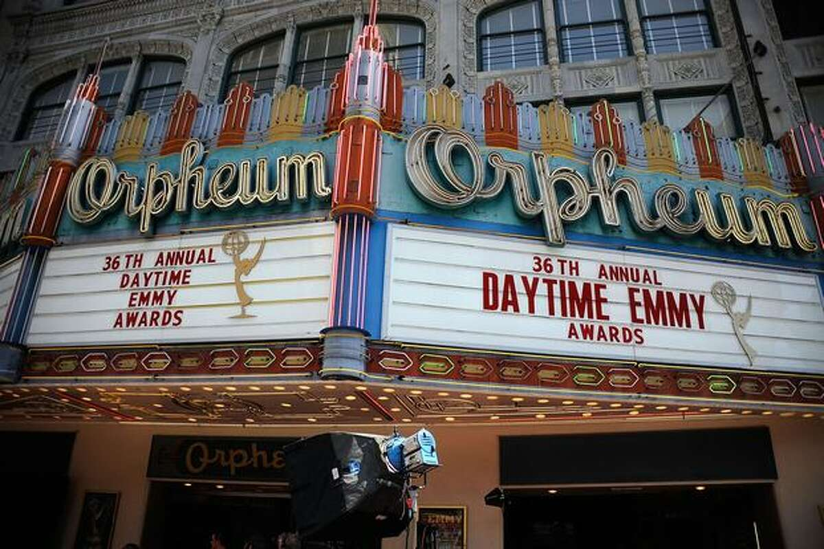 A general view of atmosphere at the 36th Annual Daytime Entertainment Emmy Awards at The Orpheum Theatre on Sunday in Los Angeles, Calif.