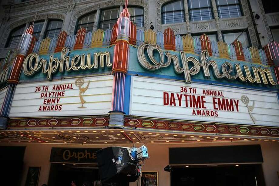 A general view of atmosphere at the 36th Annual Daytime Entertainment Emmy Awards at The Orpheum Theatre on Sunday in Los Angeles, Calif. Photo: Getty Images