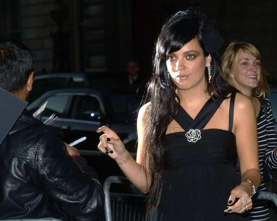British singer Lily Allen arrives for the GQ Awards at the Royal Opera House, London. Photo: Getty Images