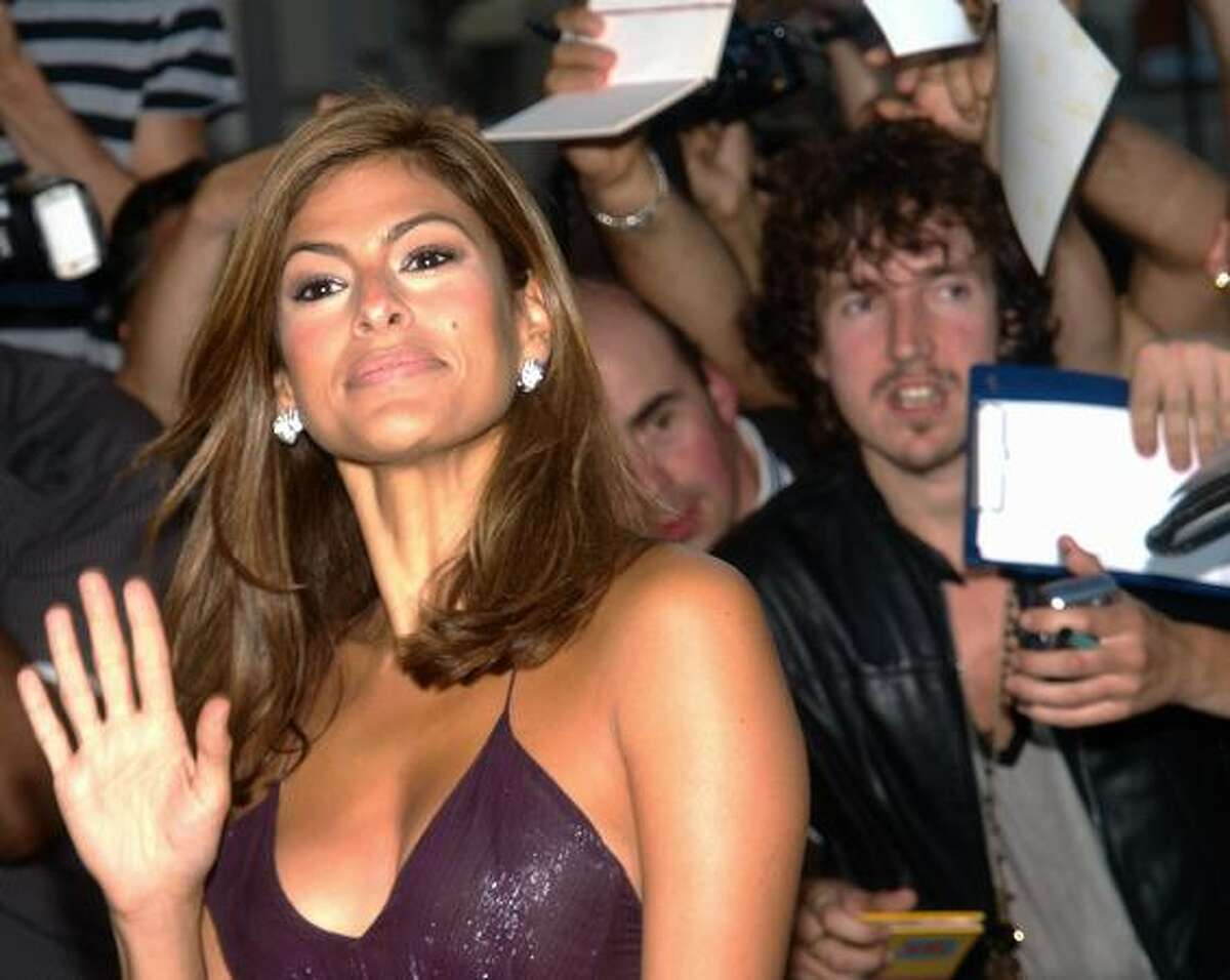 Actress Eva Mendes arrives for the GQ Awards at the Royal Opera House London.