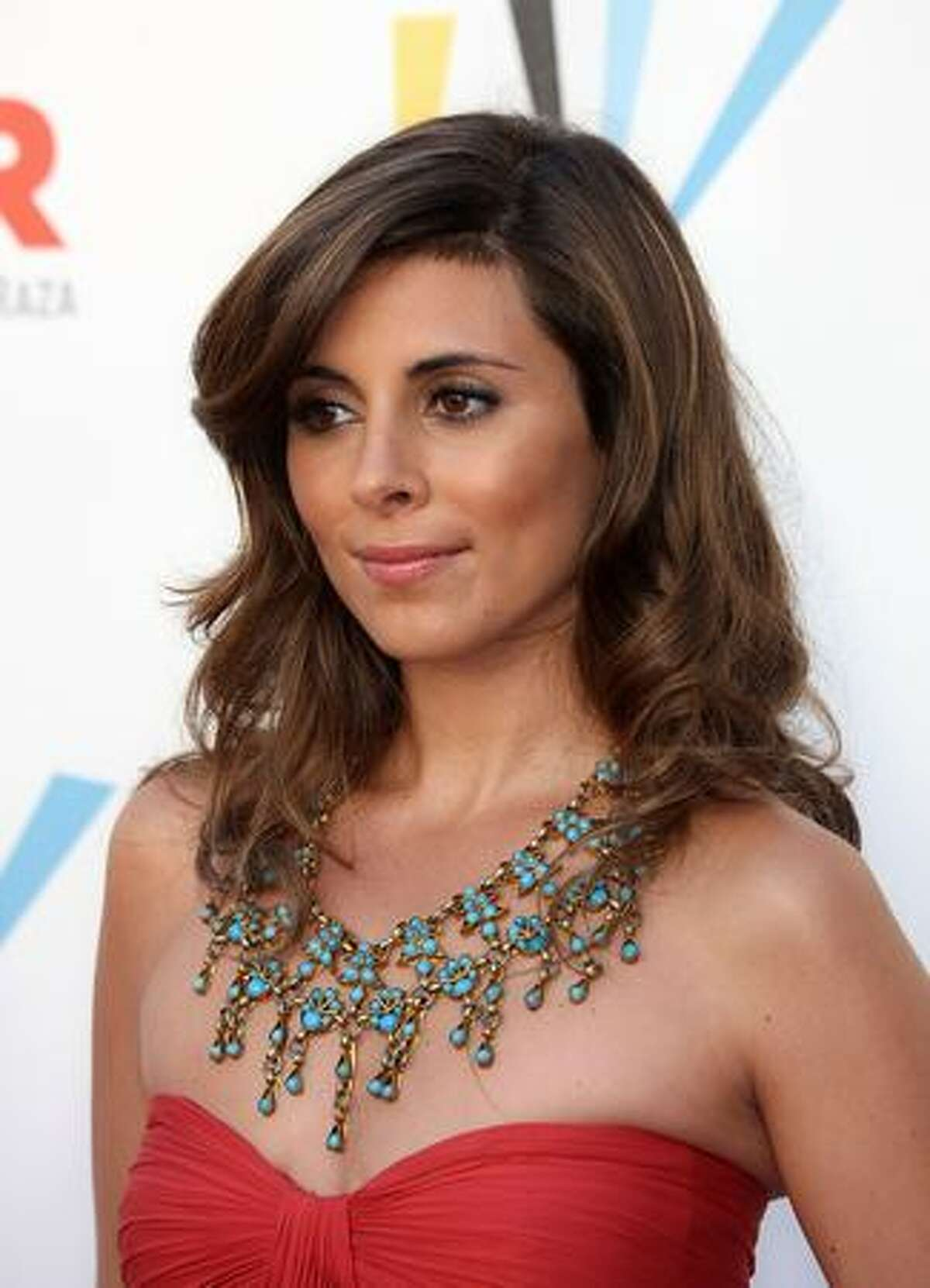 Actress Jamie-Lynn Sigler arrives at the 2009 ALMA Awards held at Royce Hall in Los Angeles, California.