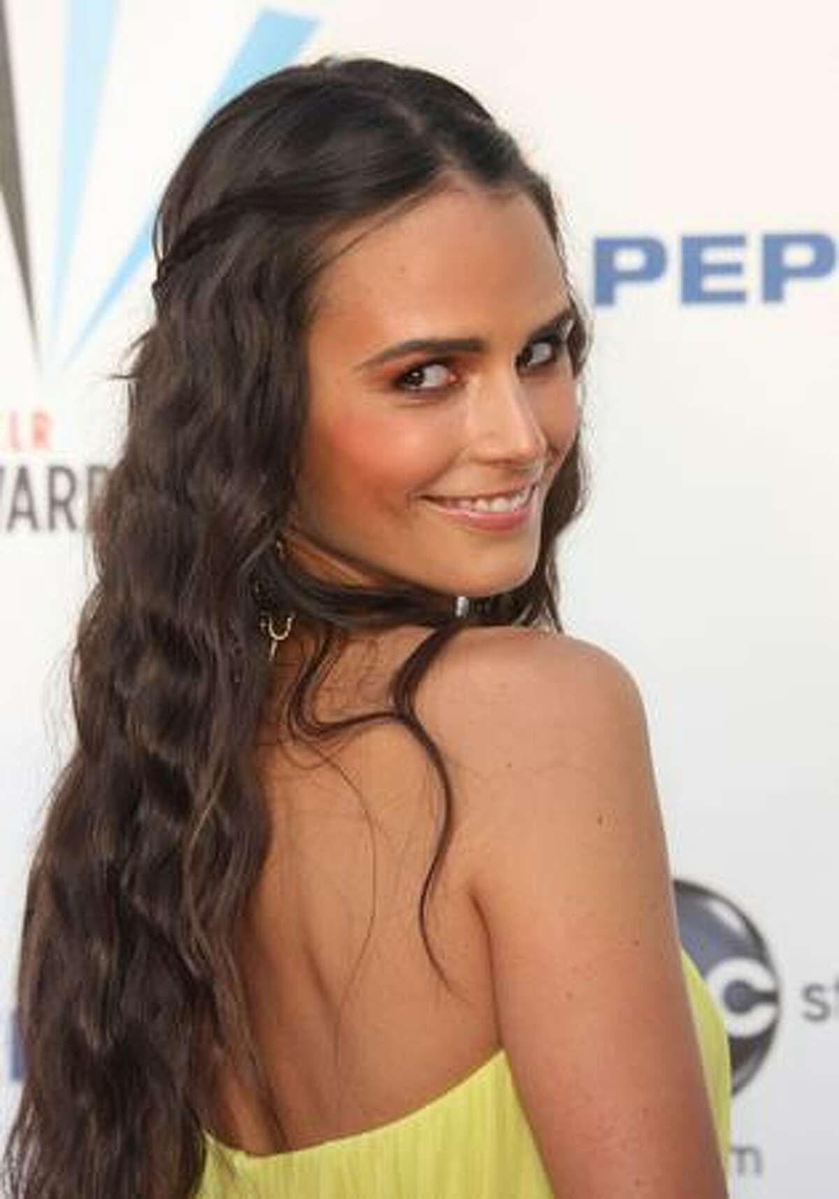 Actress Jordana Brewster arrives at the 2009 ALMA Awards held at Royce Hall in Los Angeles, California.