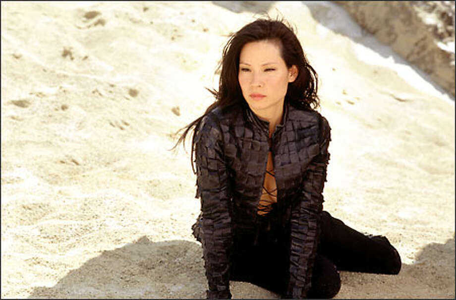 Lucy Liu as Angel Alex Munday. Photo: Columbia Pictures