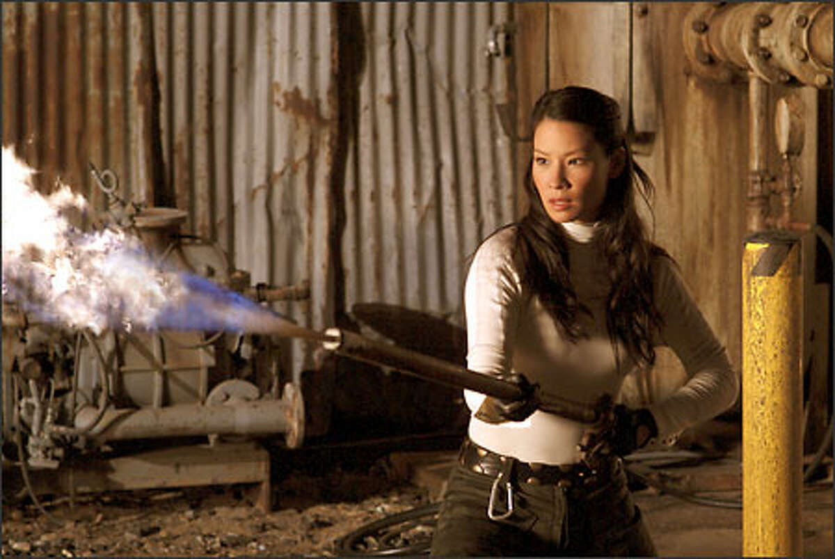 Alex (Lucy Liu) turns up the heat.