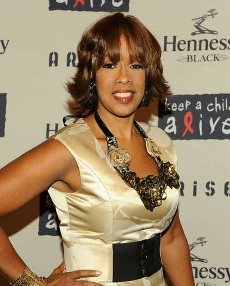 Gayle King attends Keep A Child Alive's 6th Annual Black Ball at Hammerstein Ballroom in New York City. Photo: Getty Images