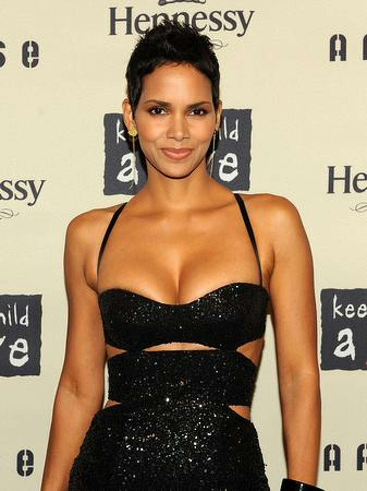 Actress Halle Berry attends Keep A Child Alive's 6th Annual Black Ball at Hammerstein Ballroom in New York City.