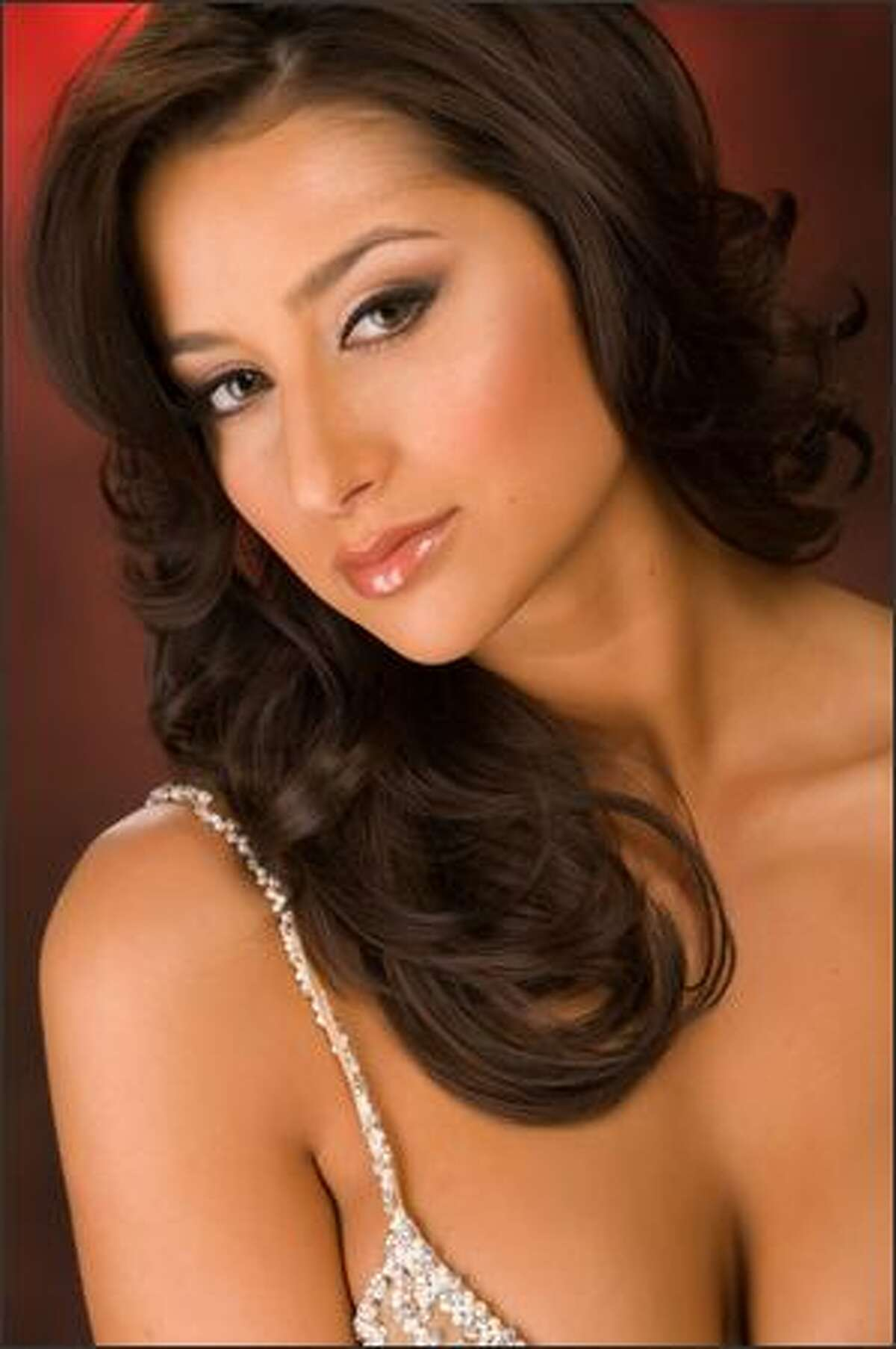 Rachel Philippona, Miss Alabama, poses for a portrait during registration and fittings for the Miss USA competition at the Planet Hollywood Resort and Casino in Las Vegas on April 4. The winner will be crowned April 19. The Miss Universe Organization, which operates the Miss USA pageant, advises that these portraits are retouched.