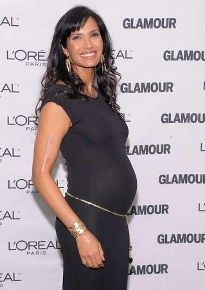 TV personality Padma Lakshmi attends the Glamour Magazine 2009 Women of The Year Honors at Carnegie Hall in New York City.