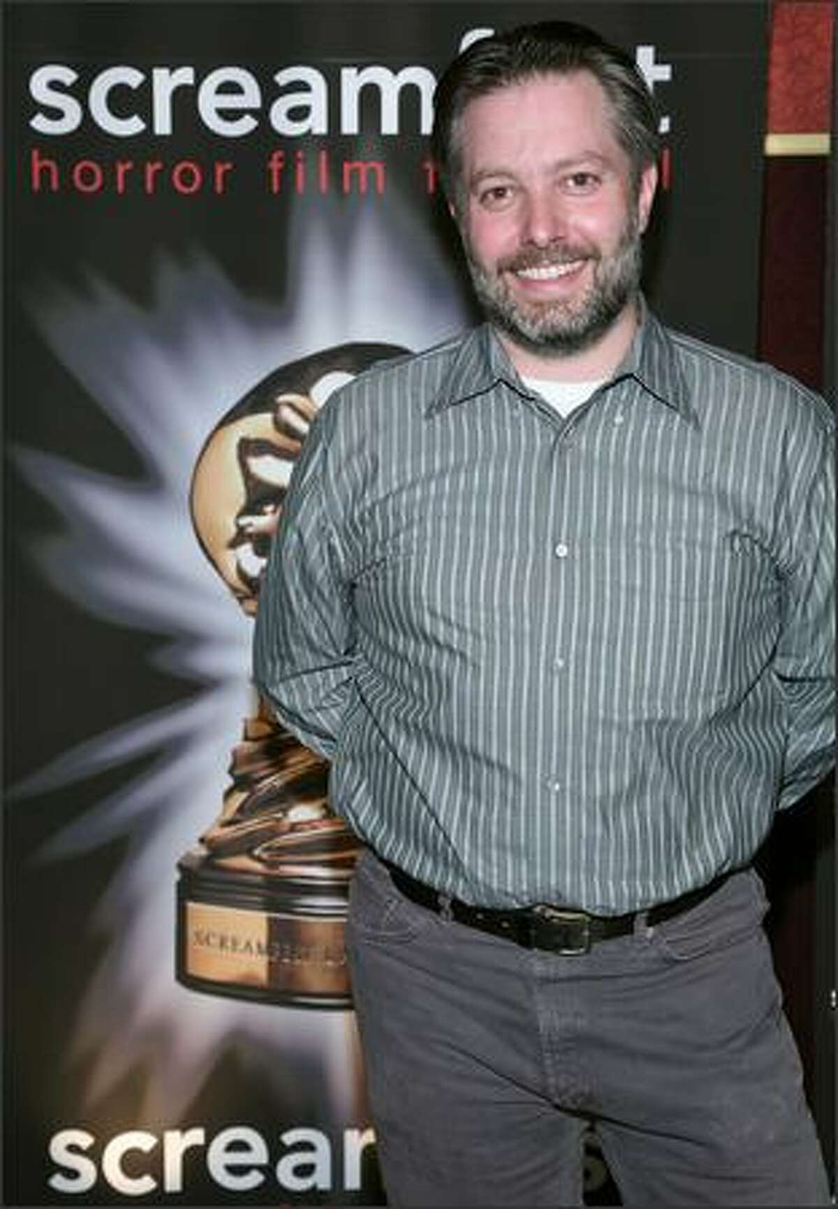 Writer/director Toby Wilkins attends the premiere of Magnolia Pictures'