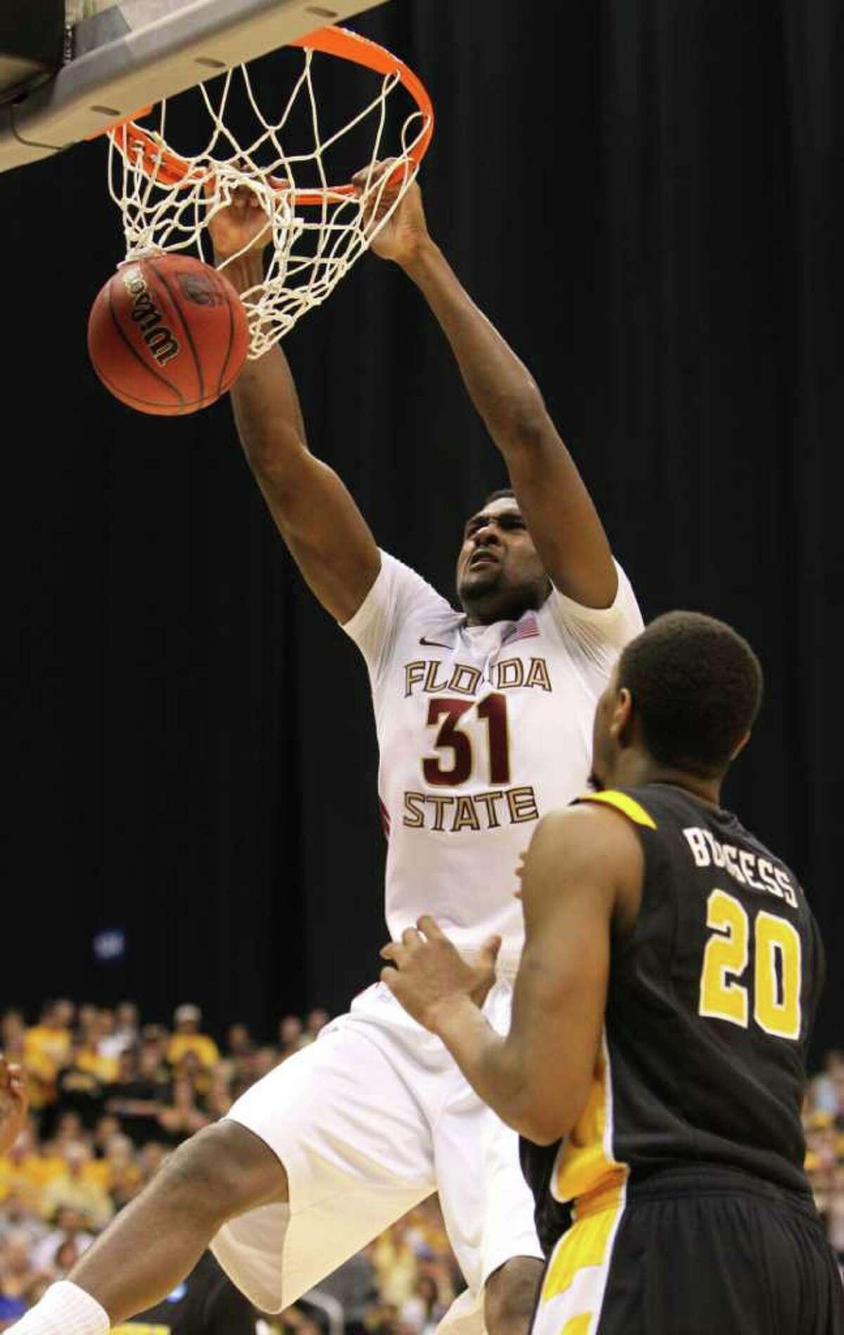 2011 - Chris Singleton, was taken by the Washington Wizards with the No. 18 pick.