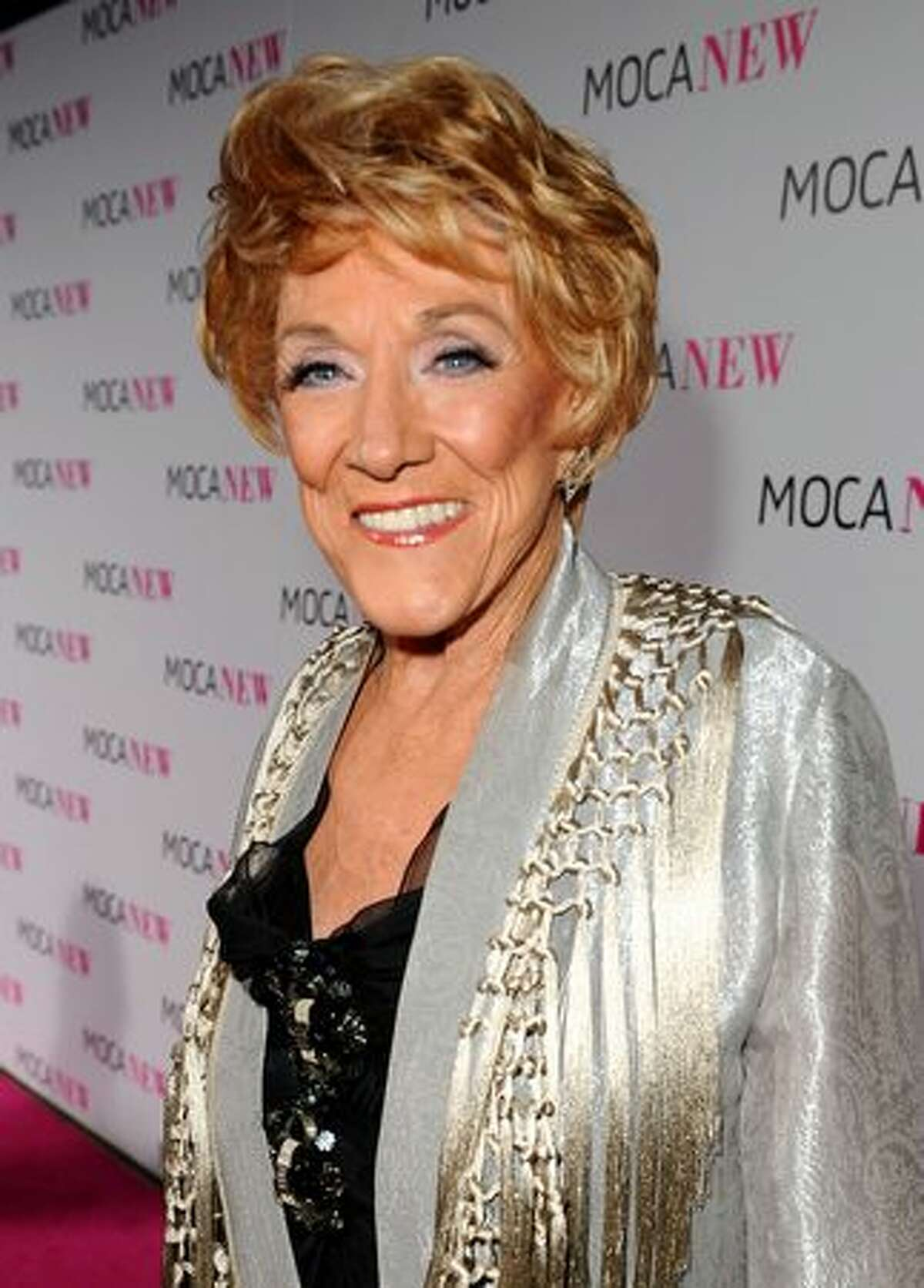Actress Jeanne Cooper arrives at the MOCA NEW 30th anniversary gala held at MOCA on Saturday in Los Angeles, California.