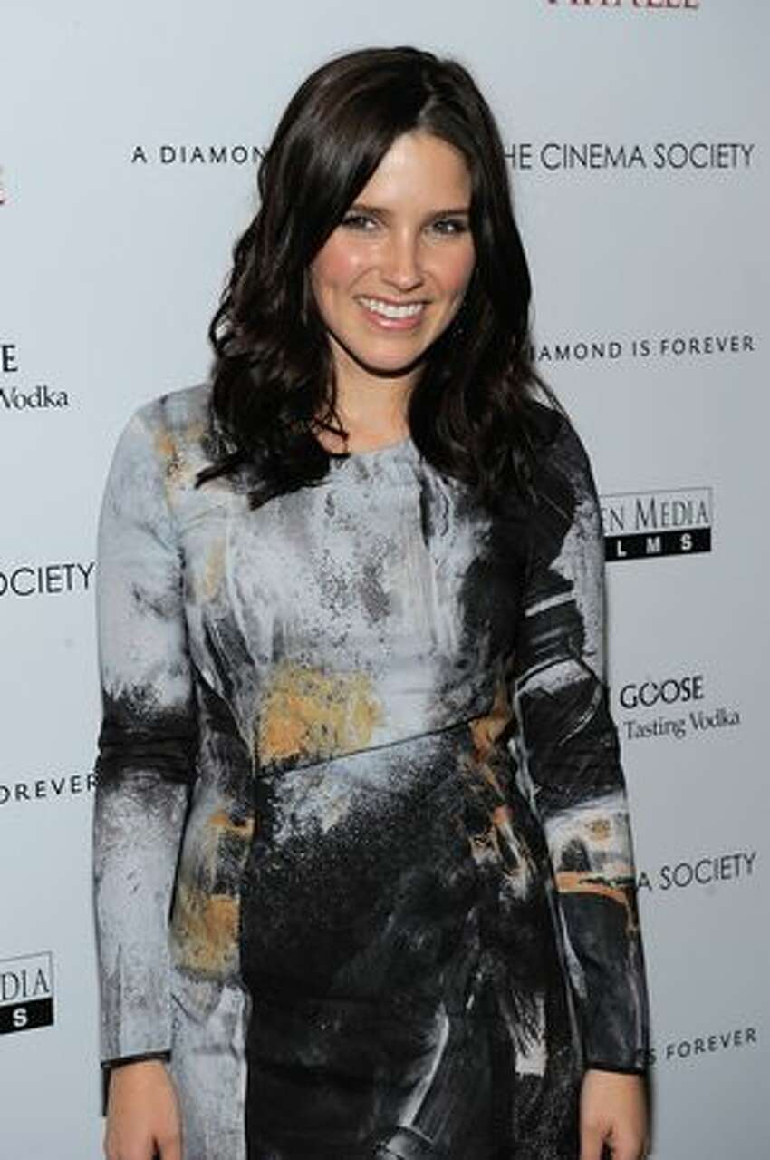 Sophia Bush attends The Cinema Society & A Diamond is Forever screening of