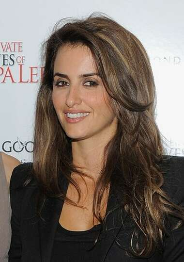 Penelope Cruz attend The Cinema Society & A Diamond is Forever screening of