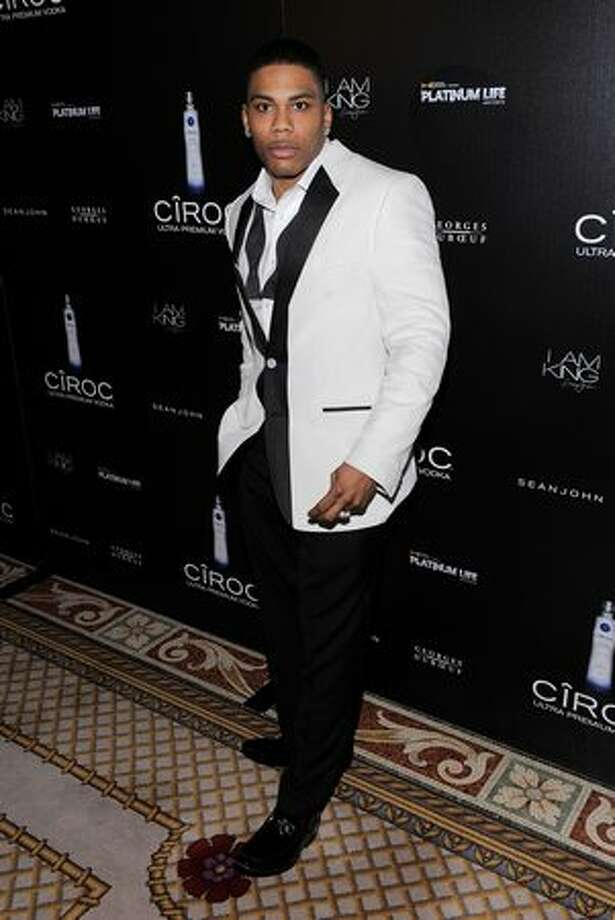 "Singer Nelly attends the Sean ""Diddy"" Combs' Birthday Celebration Presented by Ciroc Vodka at The Grand Ballroom at The Plaza Hotel in New York City. Photo: Getty Images"