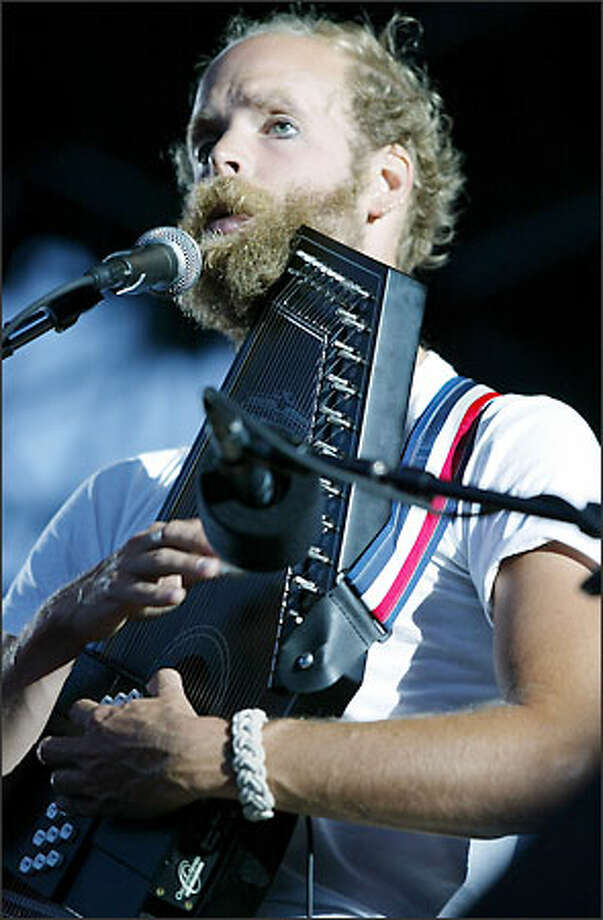 """Singer/songwriter Bonnie """"Prince"""" Billy opened for Bjork's show at Pier 62/63. Photo: Paul Joseph Brown, Seattle Post-Intelligencer"""